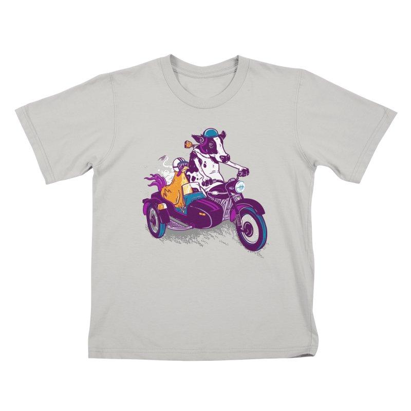 Fast Food Kids T-shirt by Ben Douglass