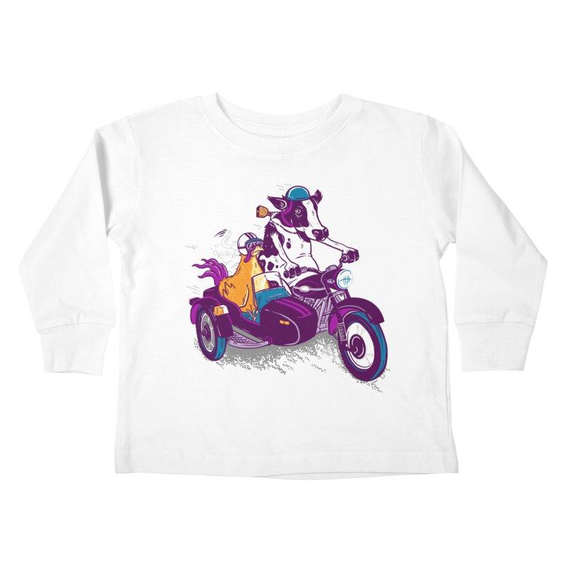 Fast Food Kids Toddler Longsleeve T-Shirt by Ben Douglass