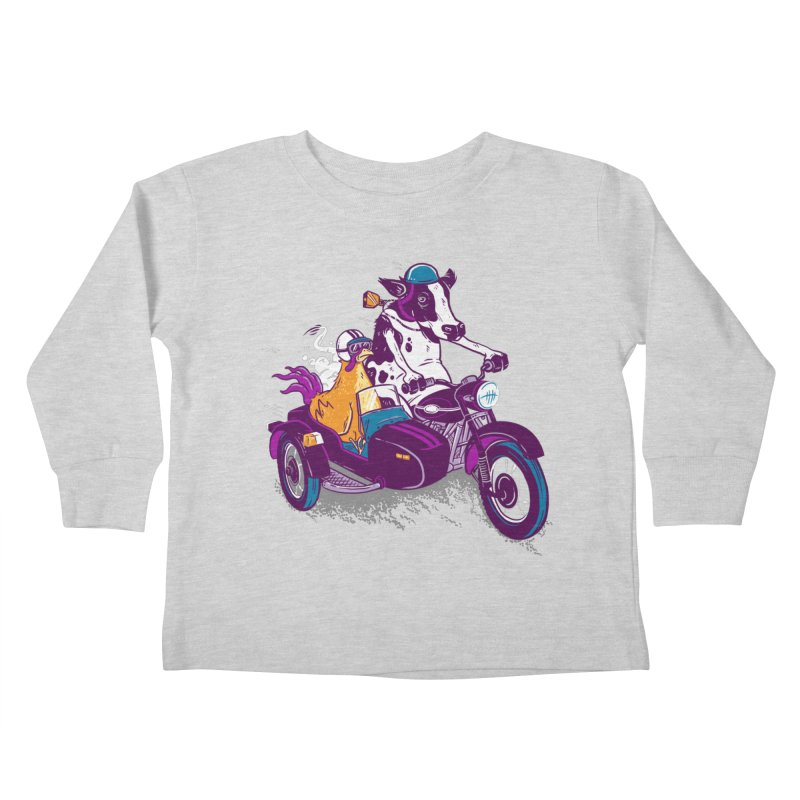 Fast Food Kids Toddler Longsleeve T-Shirt by Ben Douglass