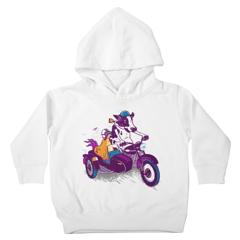 Fast Food Kids Toddler Pullover Hoody by Ben Douglass