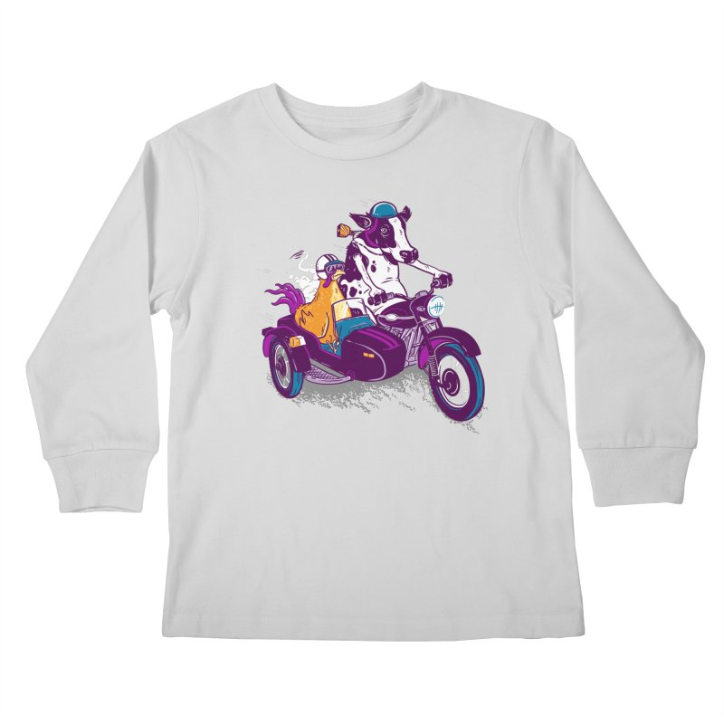 Fast Food Kids Longsleeve T-Shirt by Ben Douglass