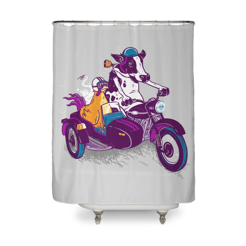 Fast Food Home Shower Curtain by Ben Douglass