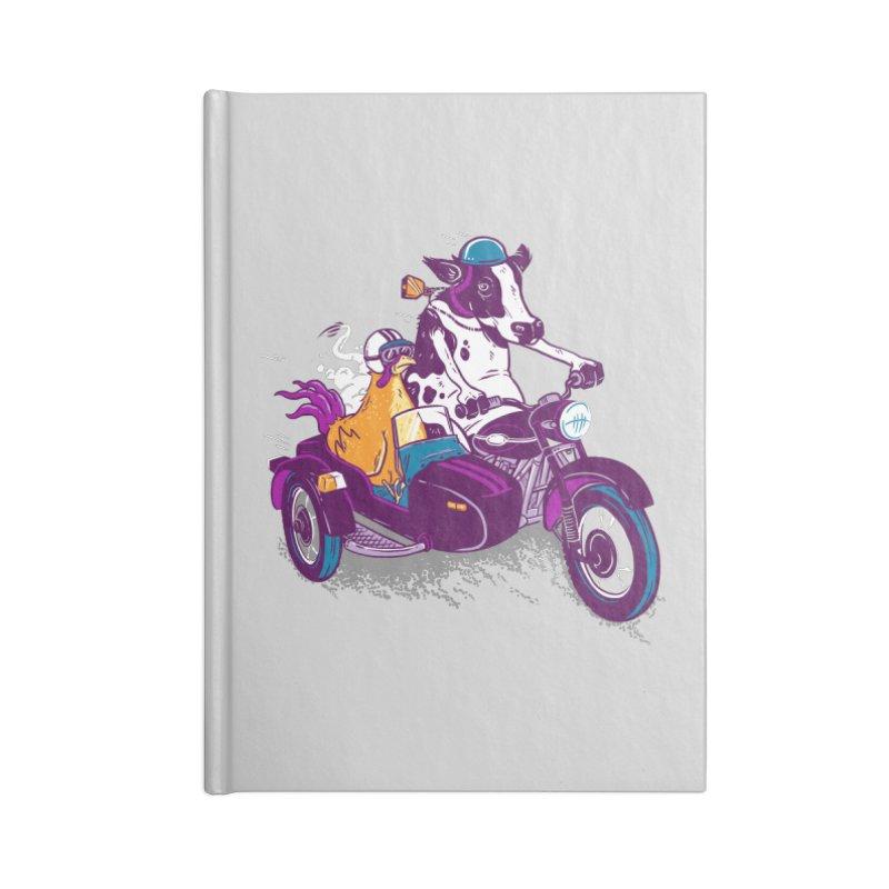 Fast Food Accessories Lined Journal Notebook by Ben Douglass