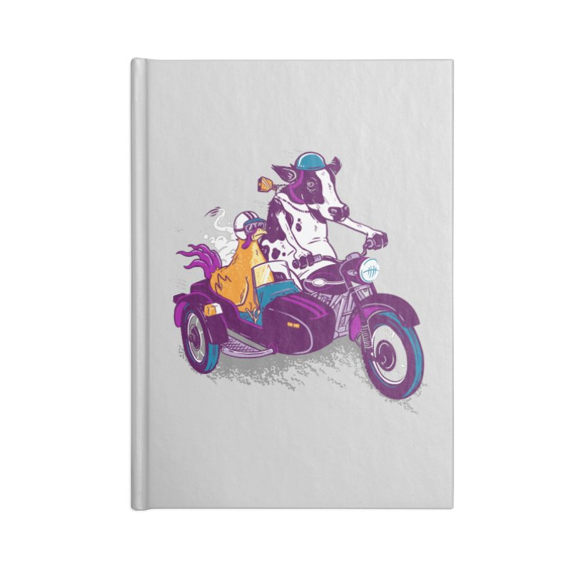 Fast Food Accessories Blank Journal Notebook by Ben Douglass