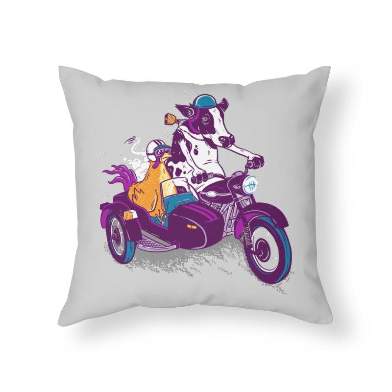 Fast Food Home Throw Pillow by Ben Douglass