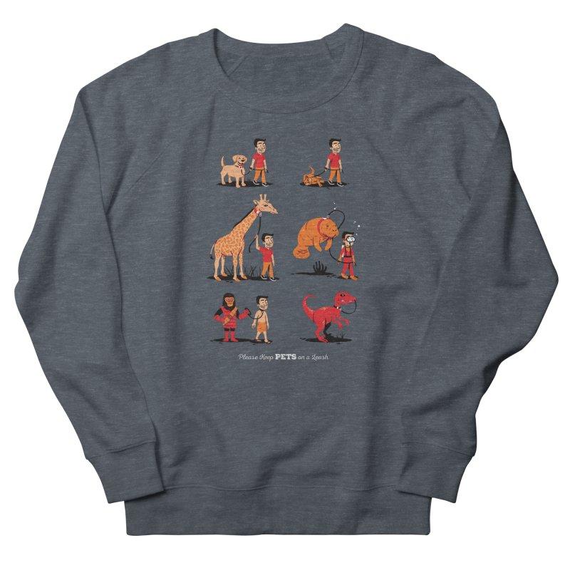 Leash Your Pet Women's Sweatshirt by Ben Douglass
