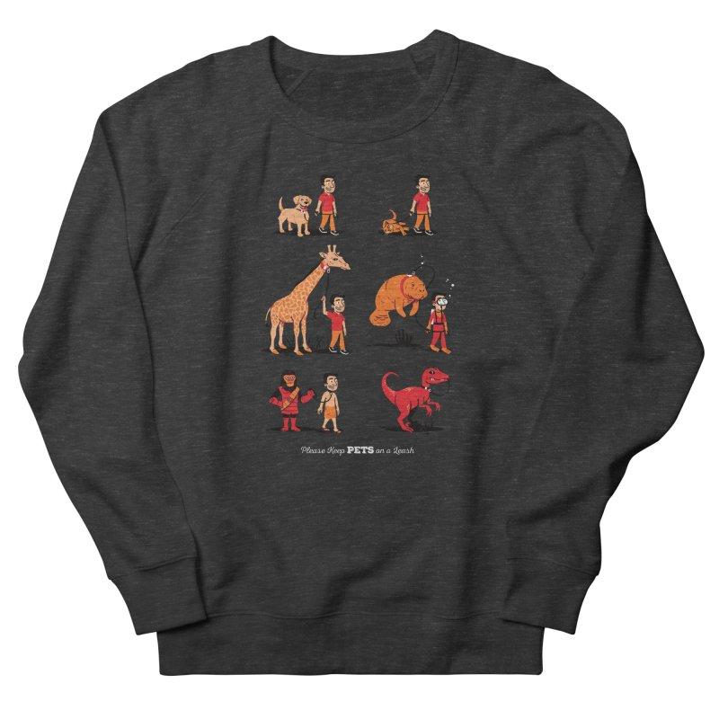 Leash Your Pet Men's Sweatshirt by Ben Douglass