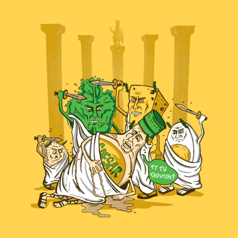 Et Tu Crouton? Men's T-Shirt by Ben Douglass