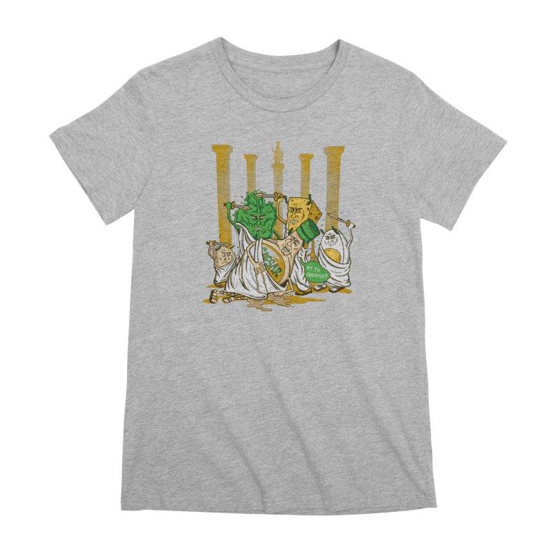 Et Tu Crouton? Women's Premium T-Shirt by Ben Douglass
