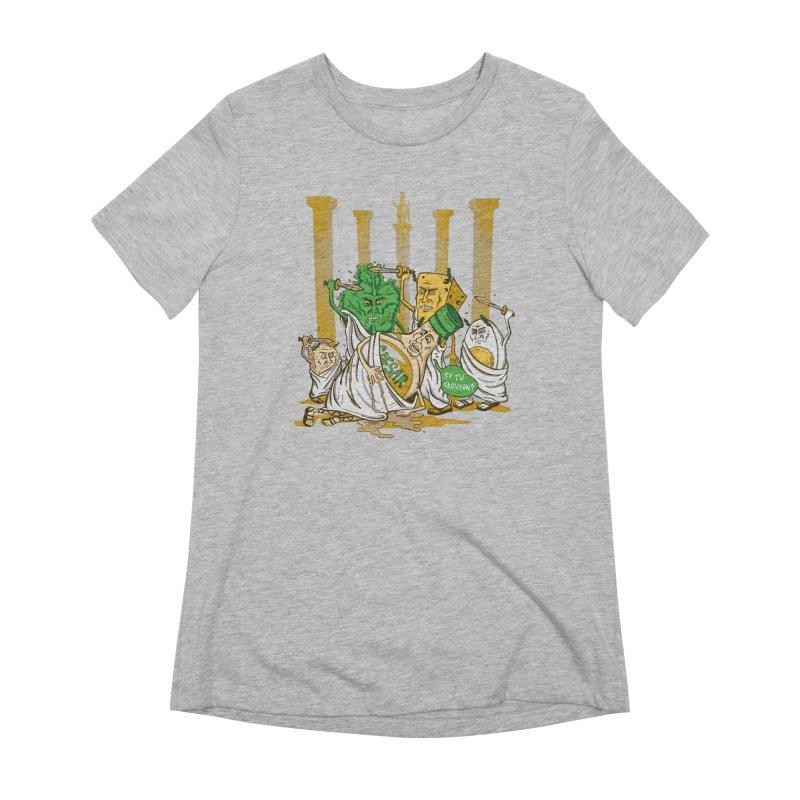 Et Tu Crouton? Women's Extra Soft T-Shirt by Ben Douglass