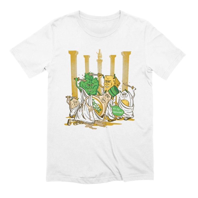 Et Tu Crouton? Men's Extra Soft T-Shirt by Ben Douglass