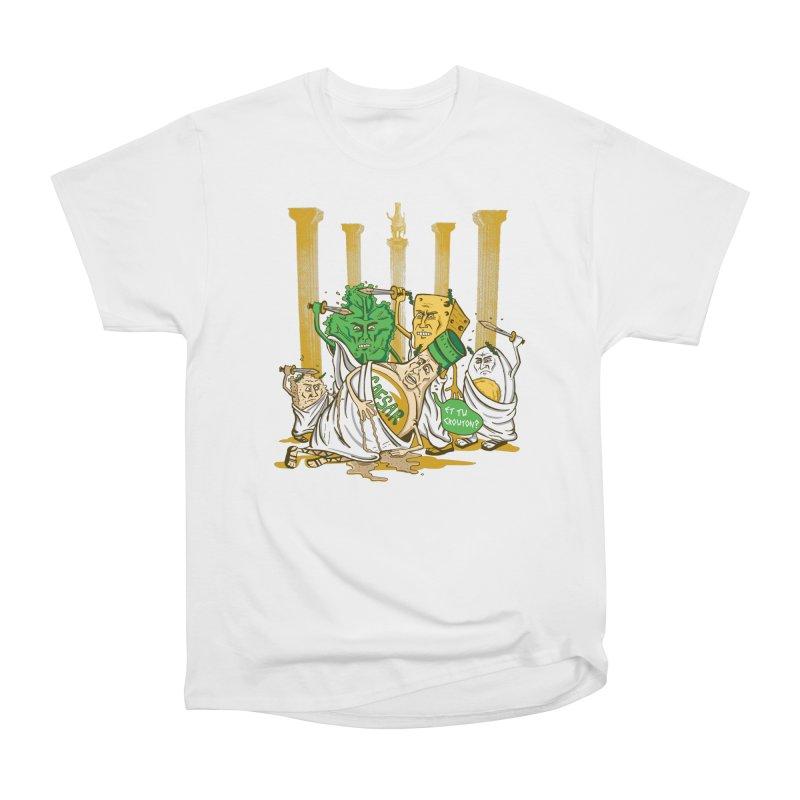 Et Tu Crouton? Men's T-Shirt by Ben Douglass