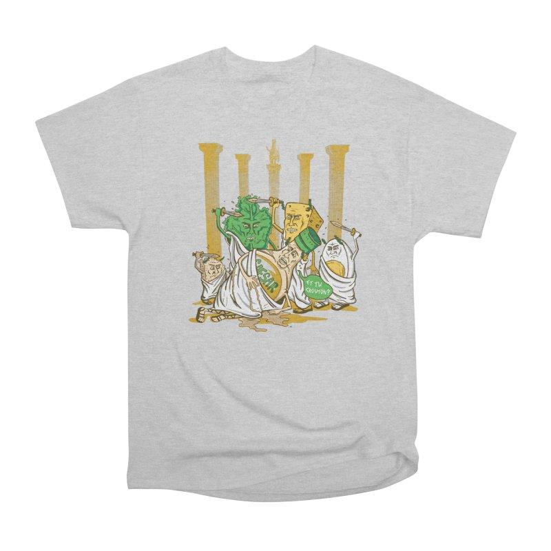 Et Tu Crouton? Women's Heavyweight Unisex T-Shirt by Ben Douglass