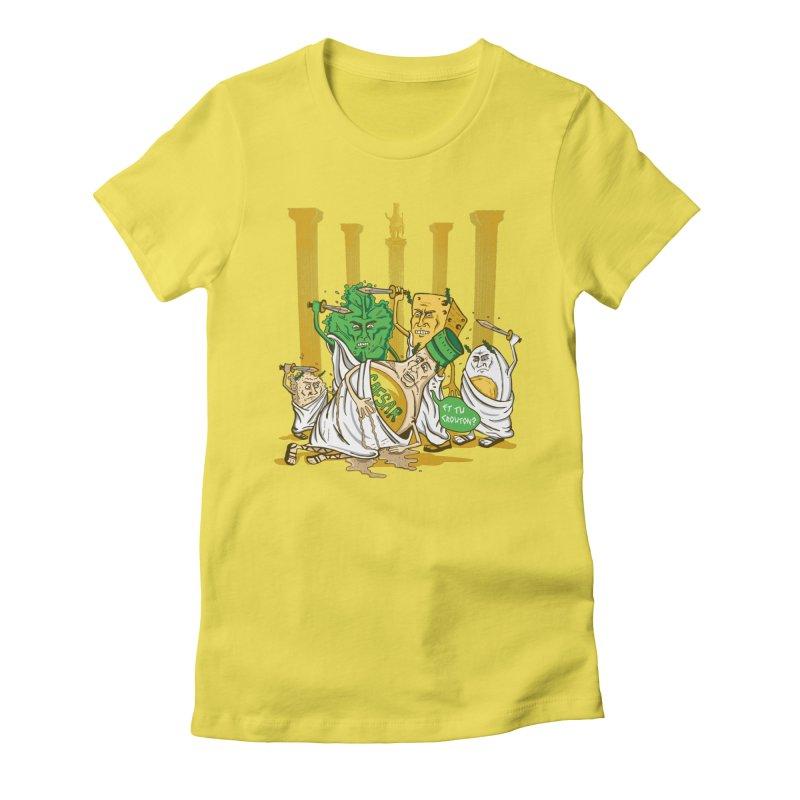 Et Tu Crouton? Women's T-Shirt by Ben Douglass