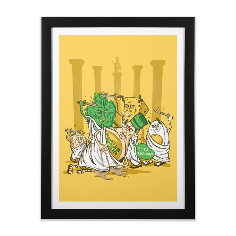 Et Tu Crouton? Home Framed Fine Art Print by Ben Douglass