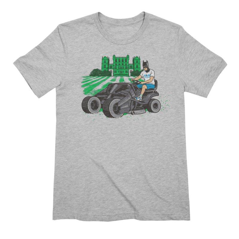 The Bat-mow-bile Men's Extra Soft T-Shirt by Ben Douglass