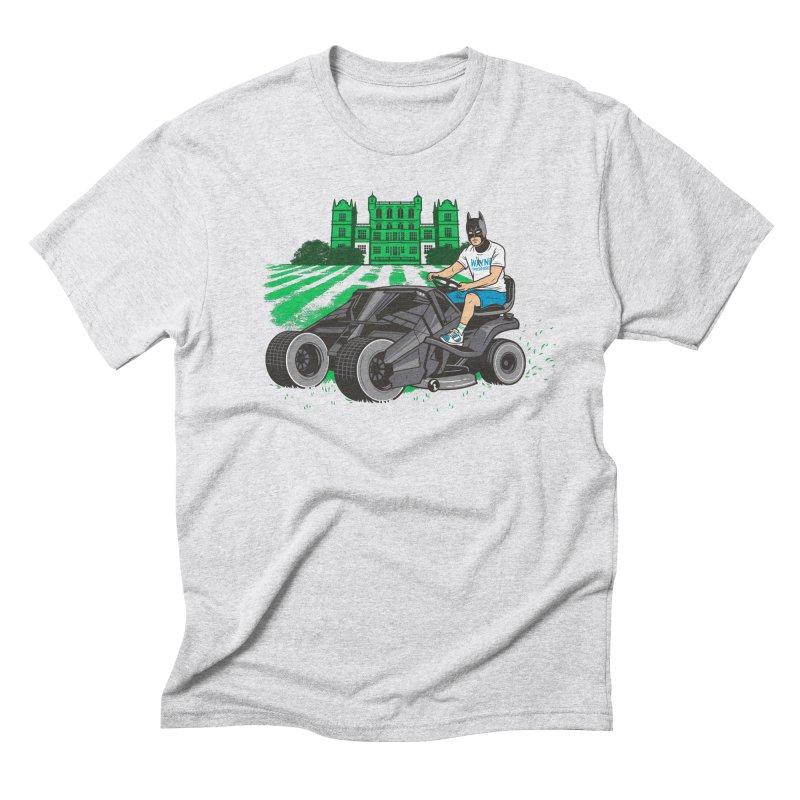 The Bat-mow-bile Men's T-Shirt by Ben Douglass