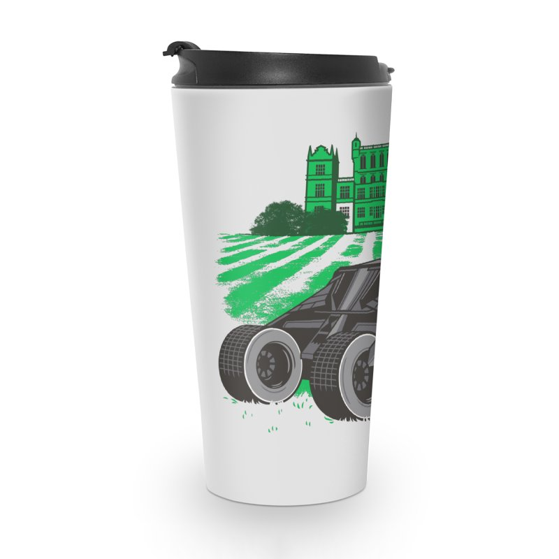 The Bat-mow-bile Accessories Travel Mug by Ben Douglass