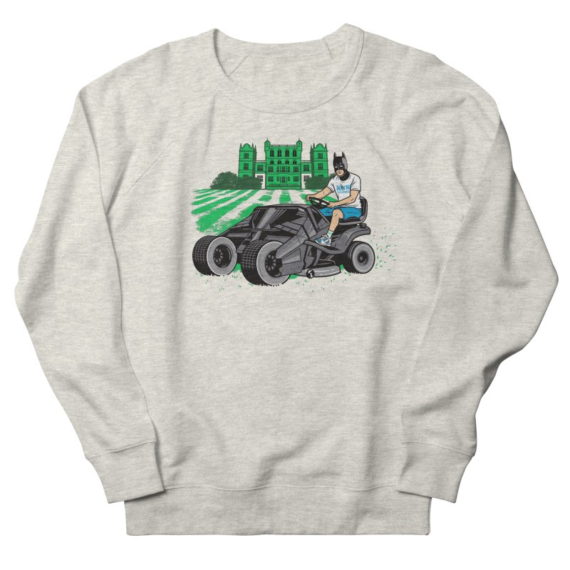 The Bat-mow-bile Men's Sweatshirt by Ben Douglass