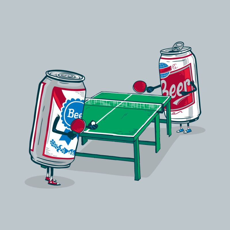 Beer Pong None  by Ben Douglass