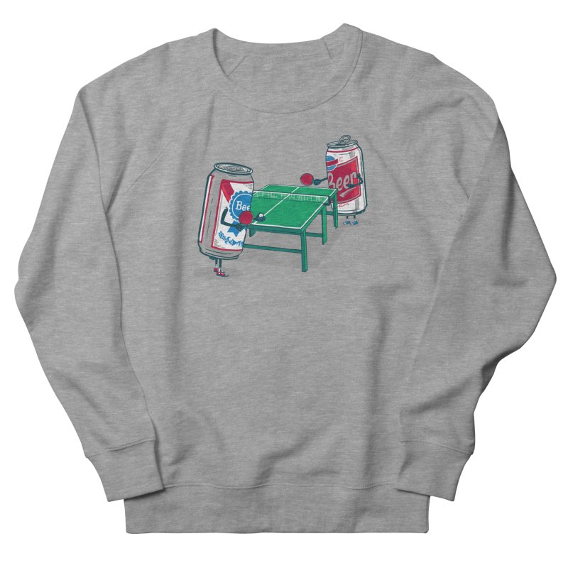 Beer Pong Men's Sweatshirt by Ben Douglass