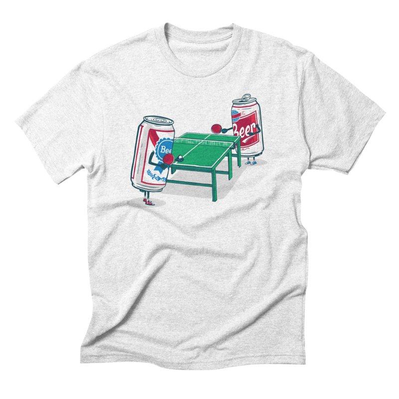 Beer Pong Men's Triblend T-shirt by Ben Douglass