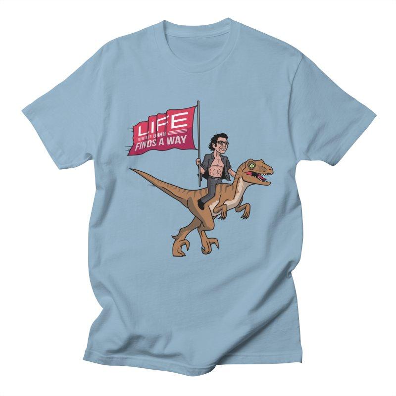 Life (UHHH) Finds a Way Men's Regular T-Shirt by Ben Douglass