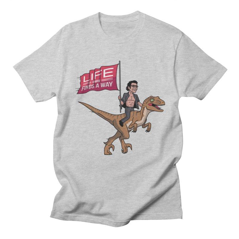 Life (UHHH) Finds a Way Men's T-Shirt by Ben Douglass