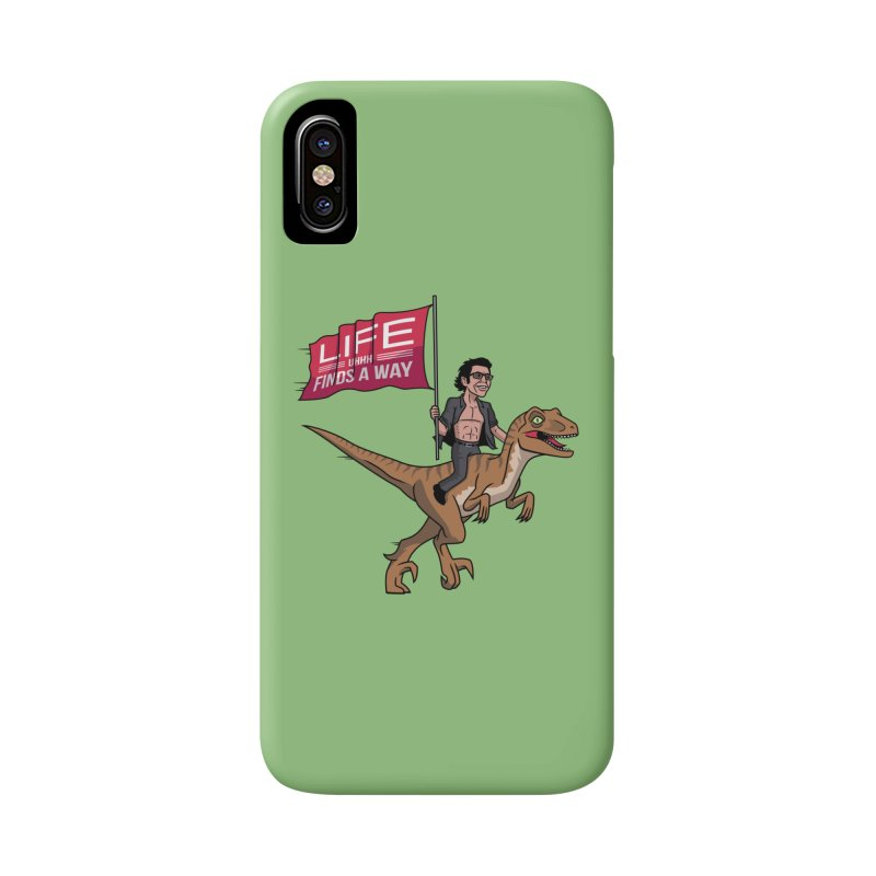 Life (UHHH) Finds a Way Accessories Phone Case by Ben Douglass