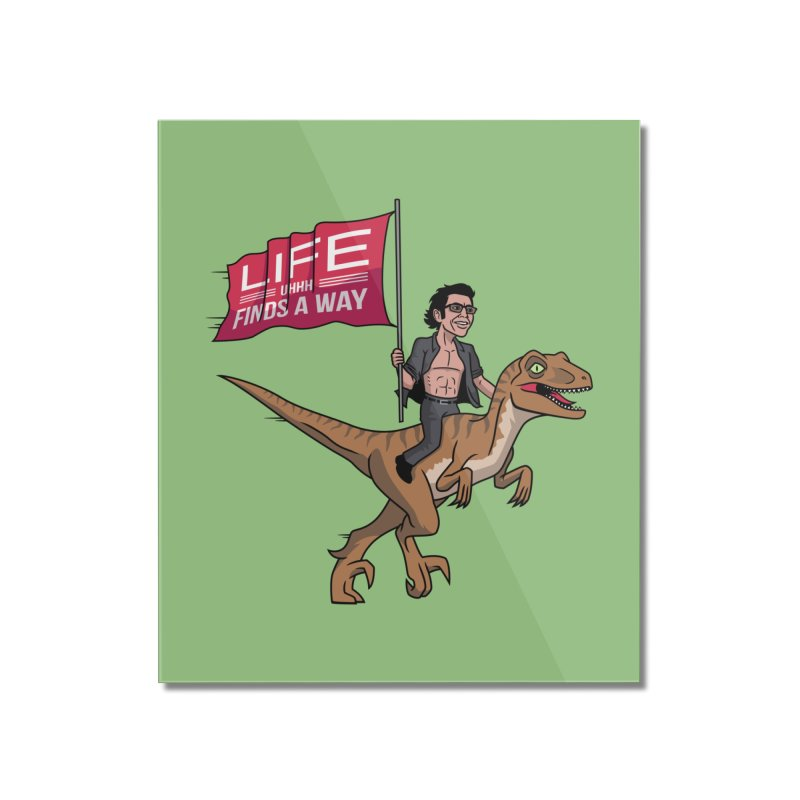 Life (UHHH) Finds a Way Home Mounted Acrylic Print by Ben Douglass