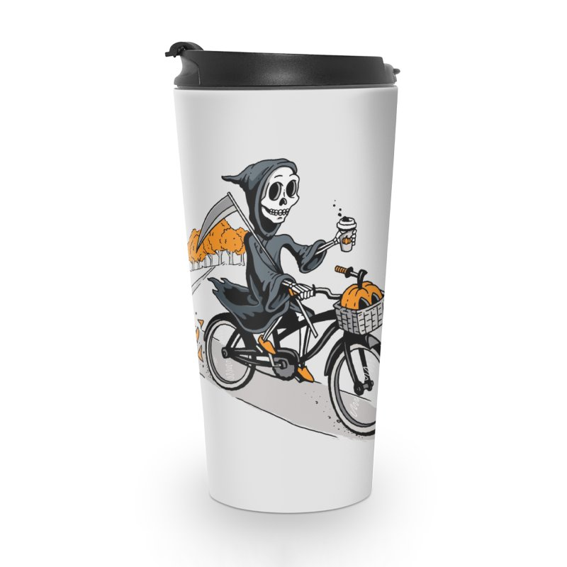 Fall Reaper Accessories Travel Mug by Ben Douglass