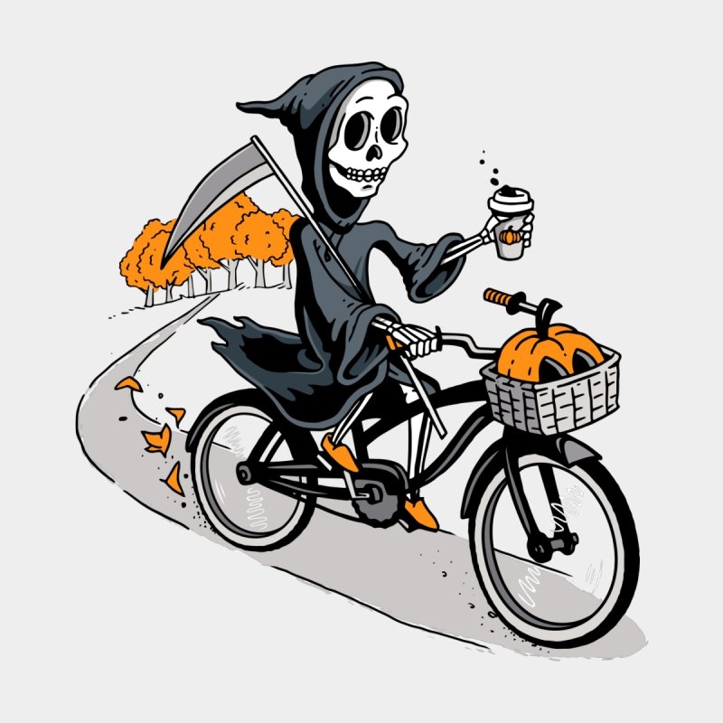 Fall Reaper Kids T-Shirt by Ben Douglass