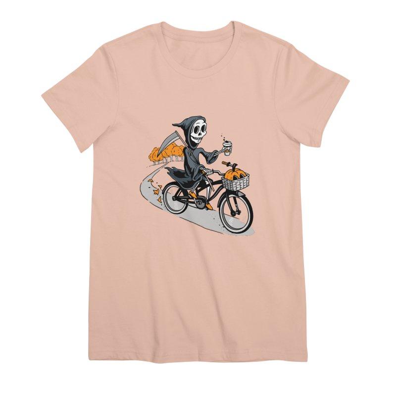 Fall Reaper Women's Premium T-Shirt by Ben Douglass