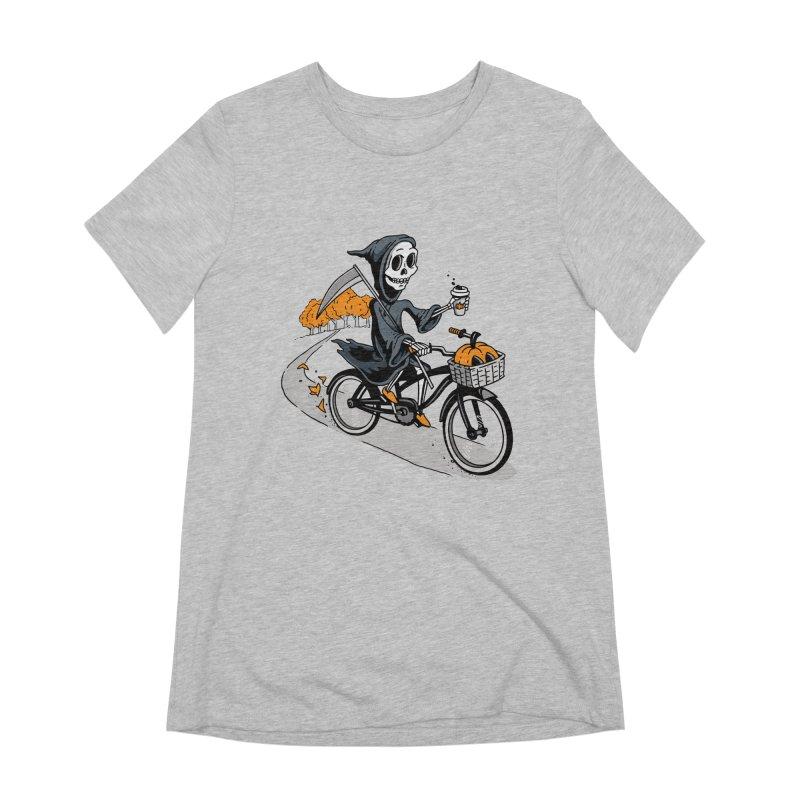 Fall Reaper Women's Extra Soft T-Shirt by Ben Douglass