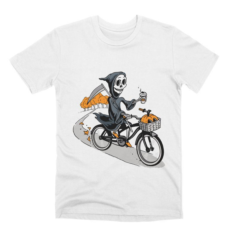 Fall Reaper Men's T-Shirt by Ben Douglass
