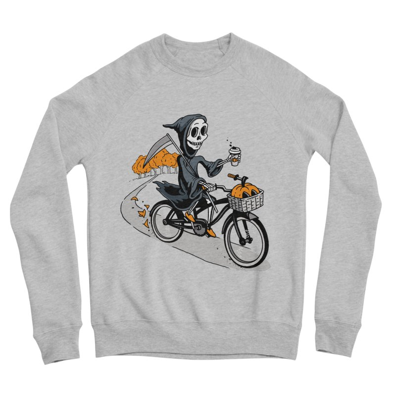 Fall Reaper Men's Sponge Fleece Sweatshirt by Ben Douglass