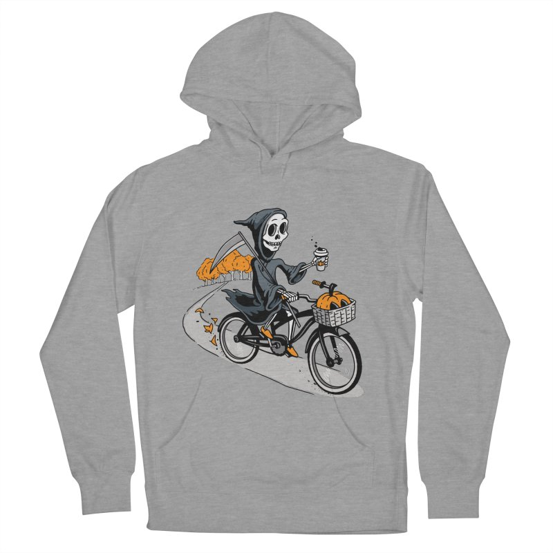 Fall Reaper Men's French Terry Pullover Hoody by Ben Douglass