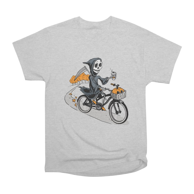 Fall Reaper Women's Heavyweight Unisex T-Shirt by Ben Douglass