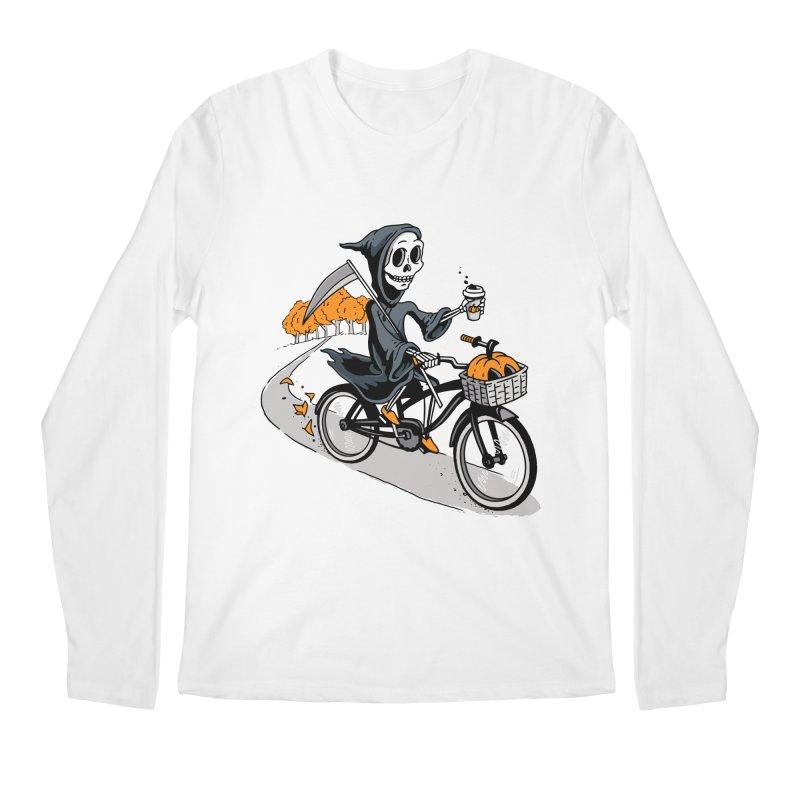 Fall Reaper Men's Regular Longsleeve T-Shirt by Ben Douglass