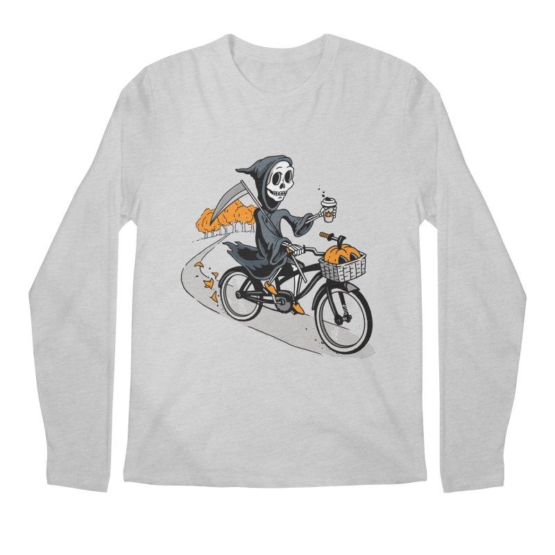 Fall Reaper Men's Longsleeve T-Shirt by Ben Douglass
