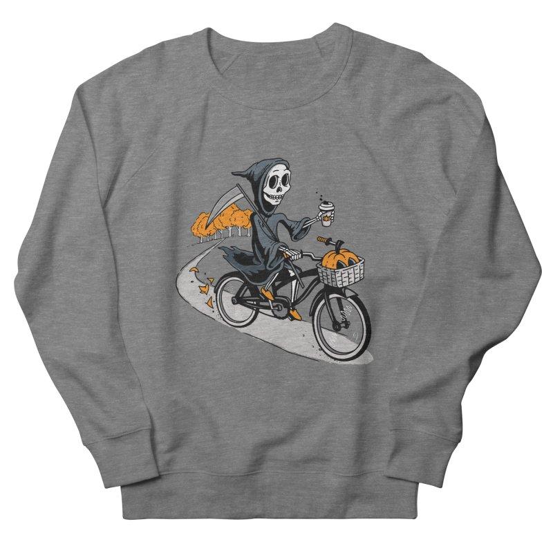 Fall Reaper Women's French Terry Sweatshirt by Ben Douglass