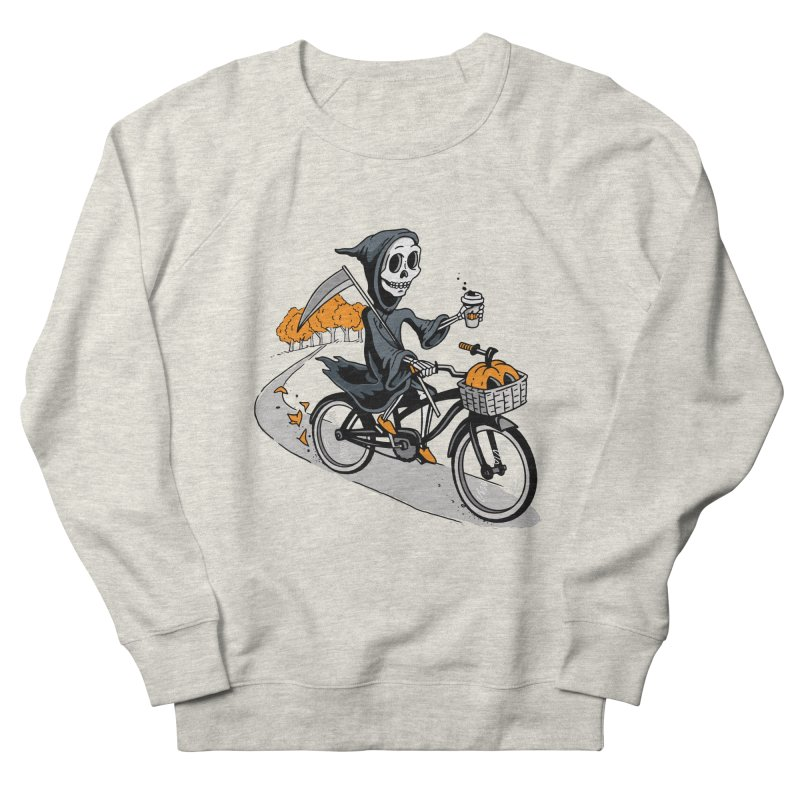 Fall Reaper Men's French Terry Sweatshirt by Ben Douglass