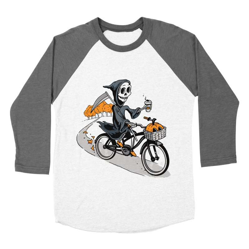 Fall Reaper Men's Baseball Triblend Longsleeve T-Shirt by Ben Douglass