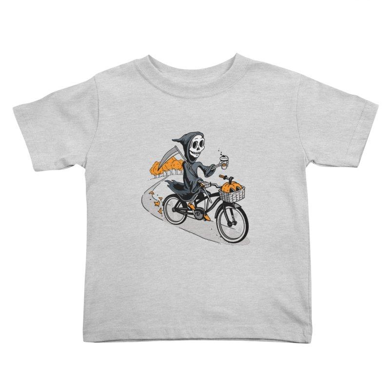Fall Reaper Kids Toddler T-Shirt by Ben Douglass