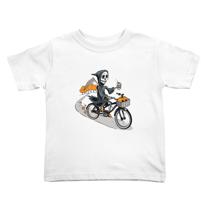 Fall Reaper Kids Toddler T-Shirt by Ben Douglass