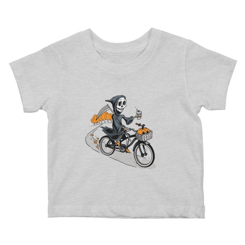 Fall Reaper Kids Baby T-Shirt by Ben Douglass