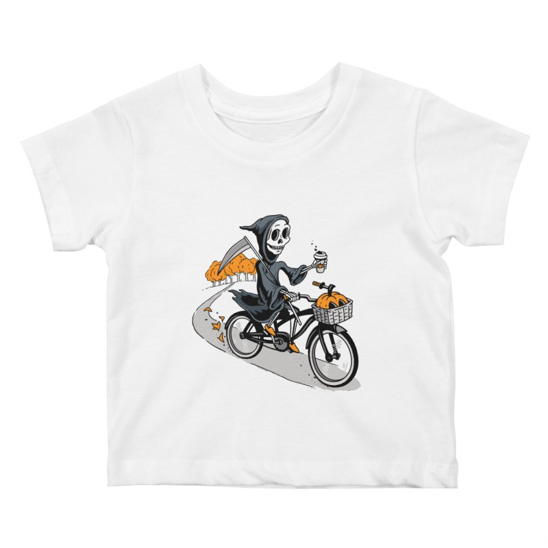 Fall Reaper Kids Baby T-Shirt by Ben Douglass