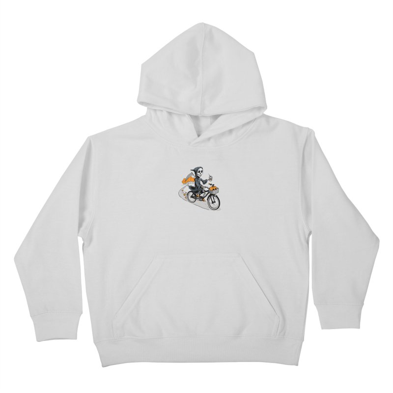 Fall Reaper Kids Pullover Hoody by Ben Douglass