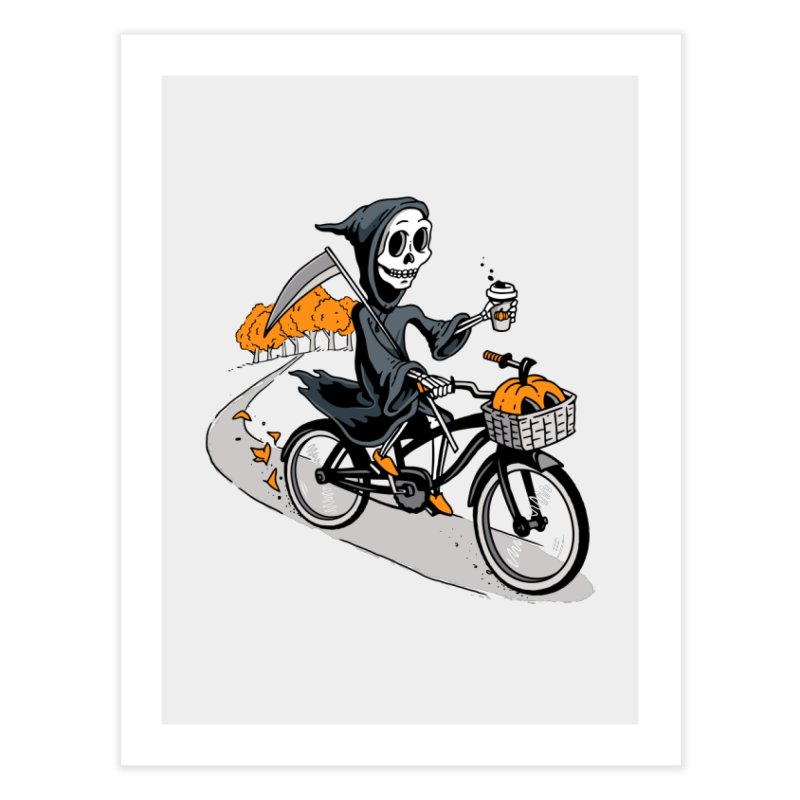 Fall Reaper Home Fine Art Print by Ben Douglass