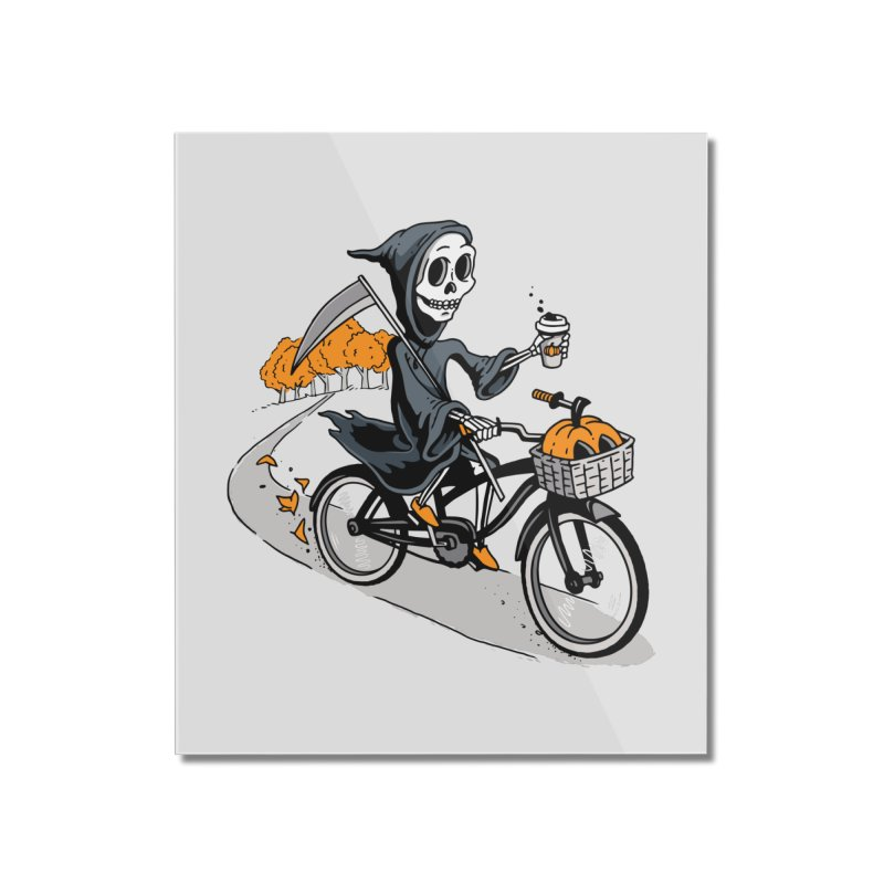 Fall Reaper Home Mounted Acrylic Print by Ben Douglass